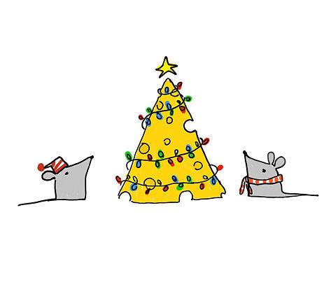 Mice Christmas Tree