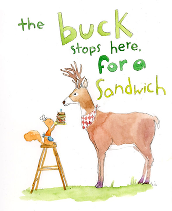 The Buck Stops Here For A Sandwich