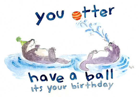You Otter Have a Ball Birthday