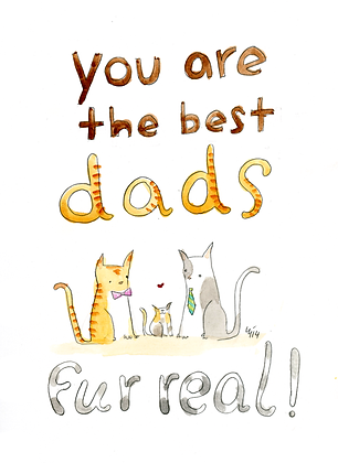 You Are The Best Dads Fur Real