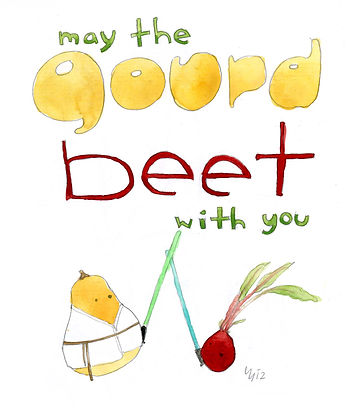 May The Gourd Beet With You