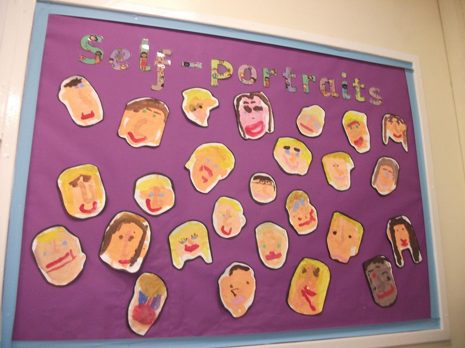 Self portraits FS2 Class 1 EOW