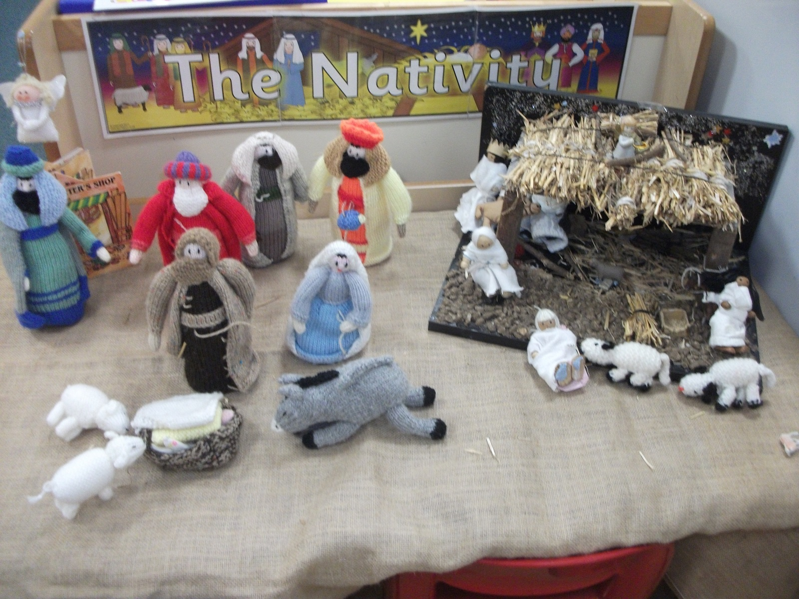 FS1 - Nativity small world