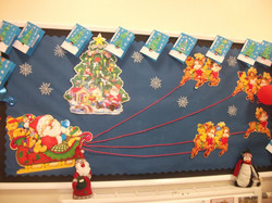 Christamas card display in FS1