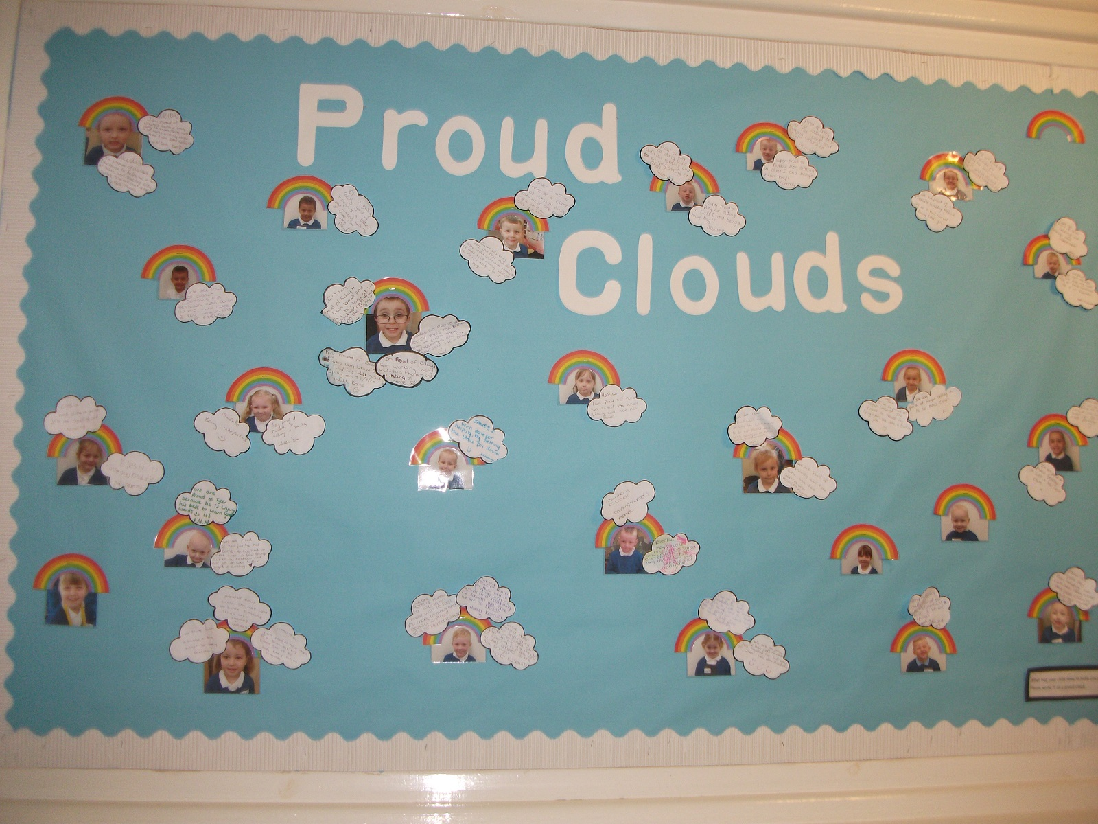 KS2 - Class 1 Parent's Proud Clouds EOW.