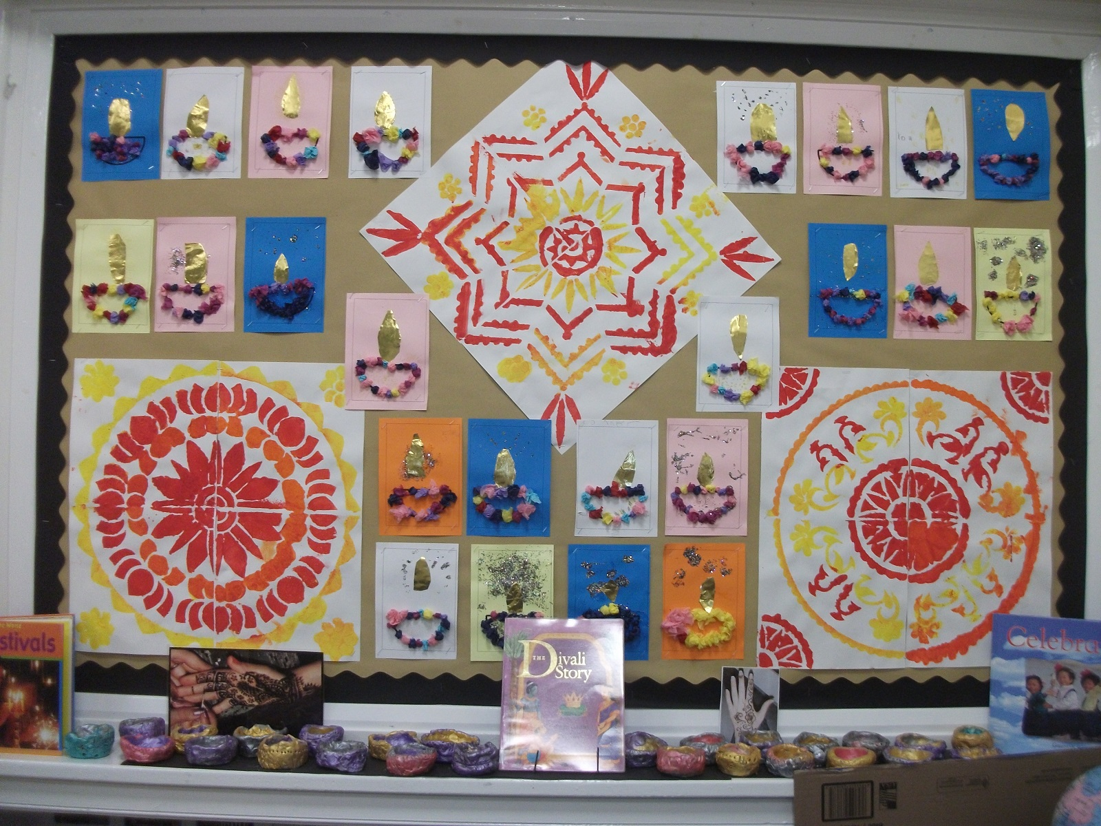 Class 2 Divali - Rangoli patterns