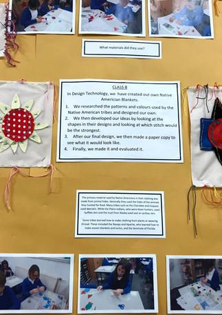 Class 7 Native American Blankets