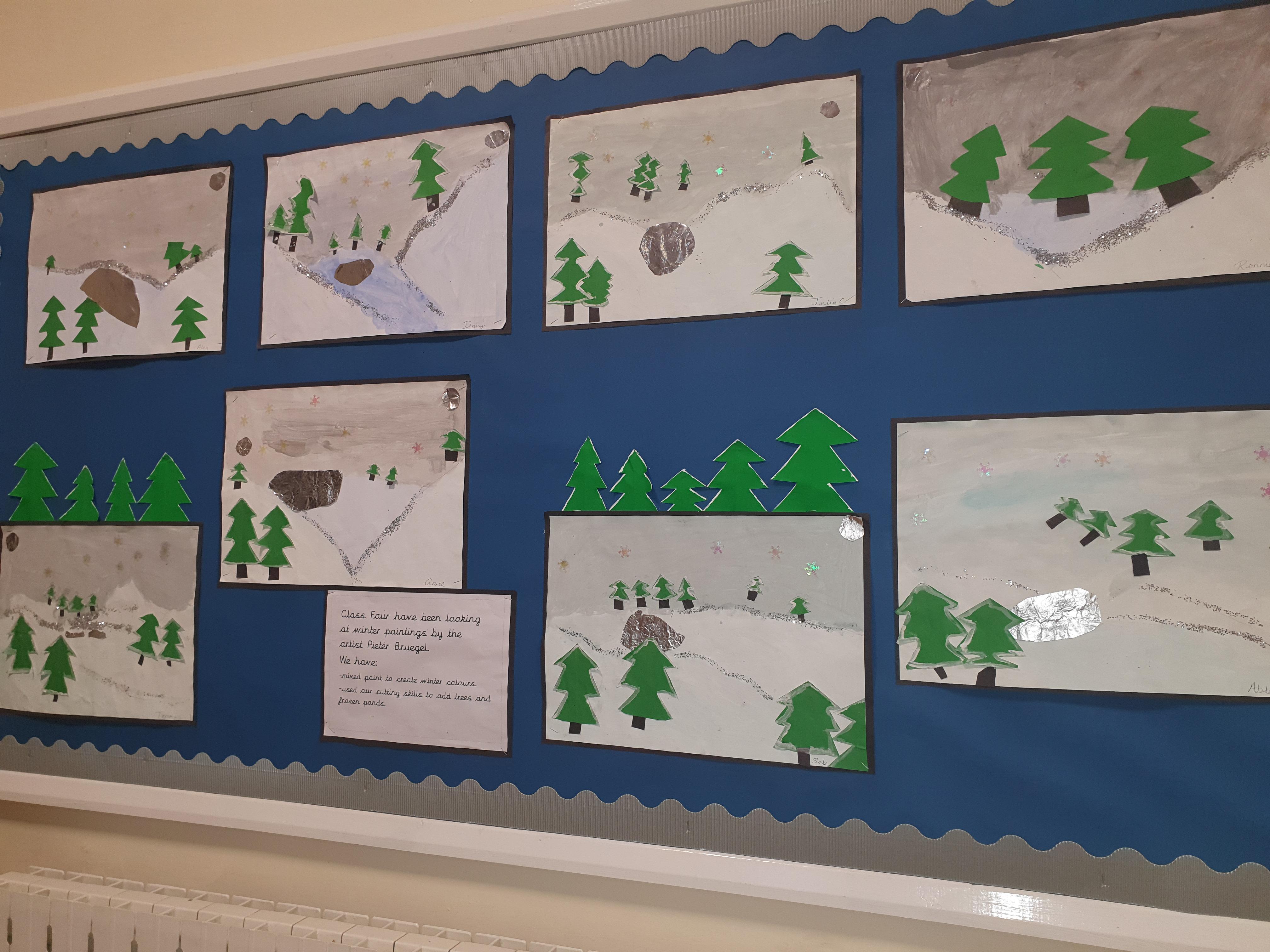 Class 4 art work