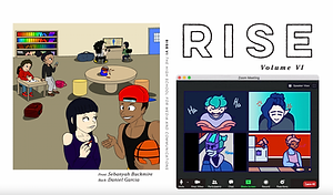 The cover for Rise VI