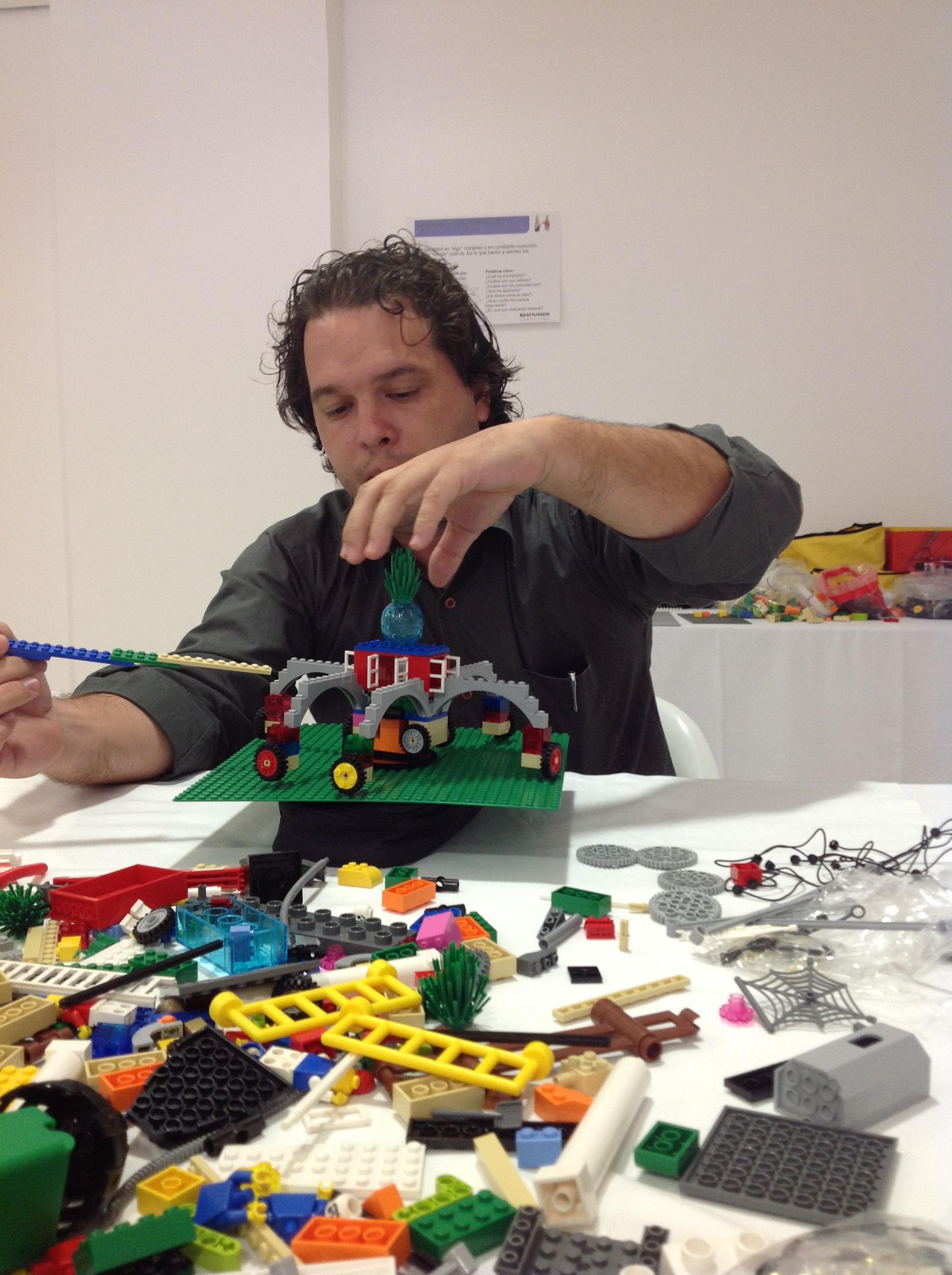 Certificação LEGO Seriou Play