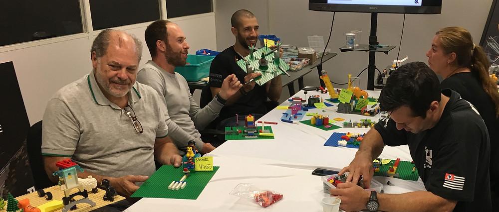 workshop lego serious play, estratégia, triumph experience