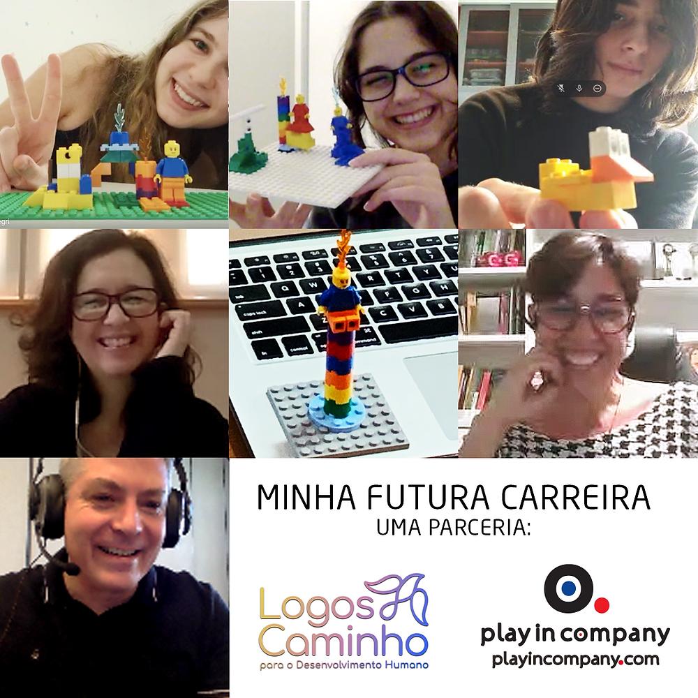 Workshop Vocacional Online com LEGO Serious Play