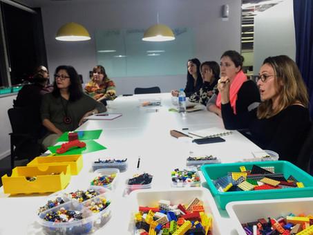 GRUPO CONSTRÓI COMPETÊNCIAS DE LIDERANÇA DE HOJE E DE AMANHÃ COM LEGO SERIOUS PLAY