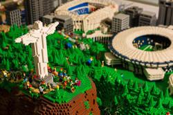 Maquete LEGO Rio 2016