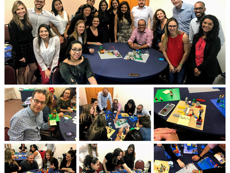 A PLAY IN COMPANY REALIZA MAIS UM WORKSHOP PARA O TIME DA LEGO