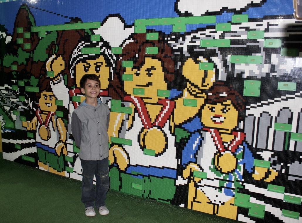 Painel LEGO - Casa LEGO na Rio 2016