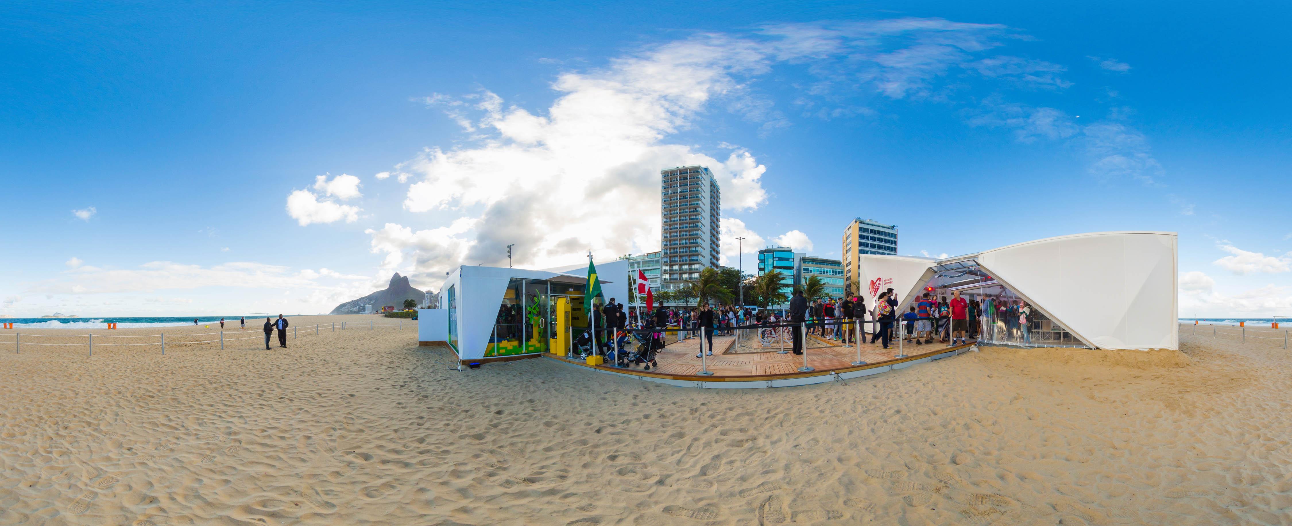 Casa LEGO - Jogos Rio 2016