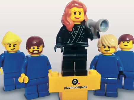 Play in Company Pitch Session: Aprimorando a Comunicação com LEGO Serious Play