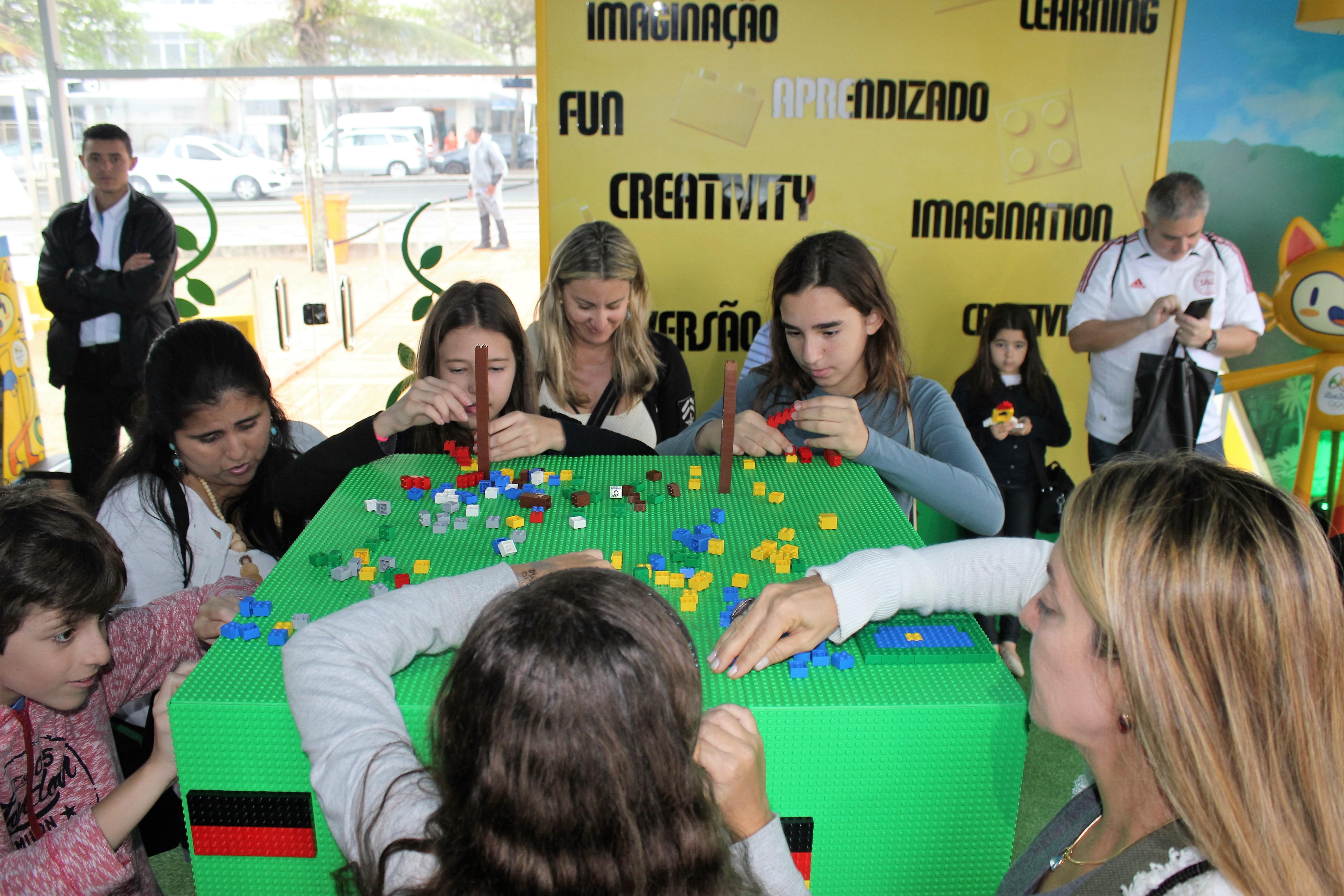 Cubos LEGO Jogos Rio 2016