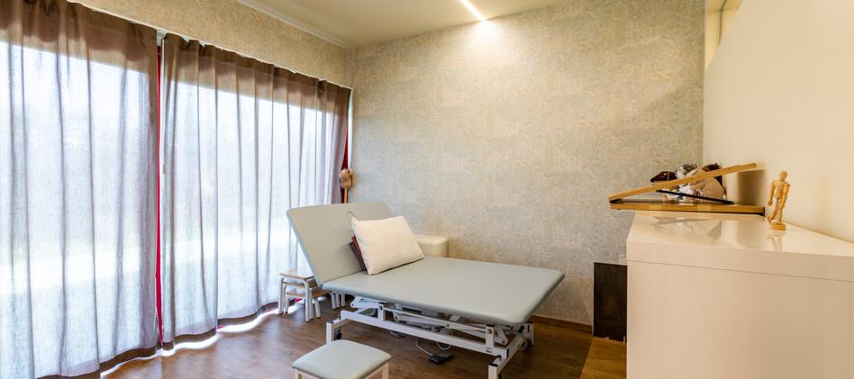 Stanza di fisioterapia centro medico
