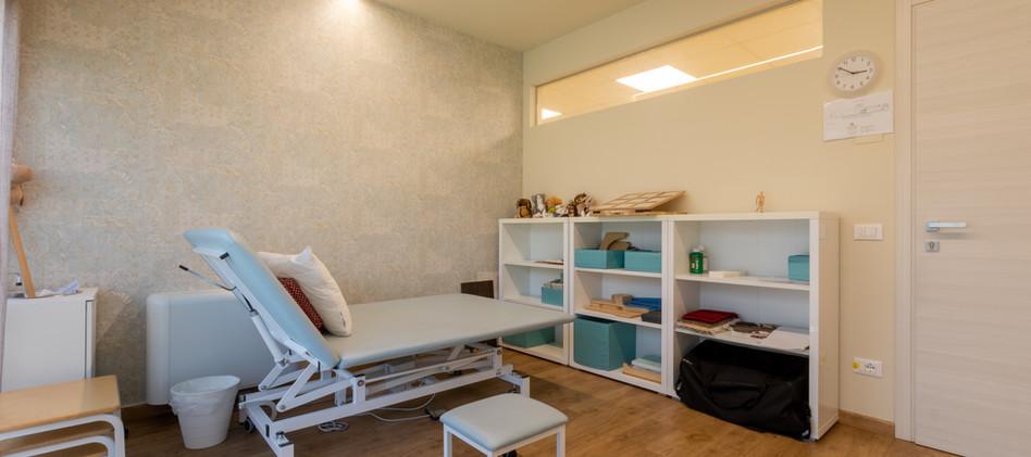 Stanza di fisioterapia Motus Mens Verona