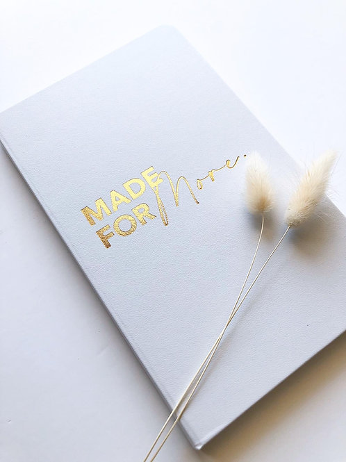 Made For More A5 Journals (Plain Paper)