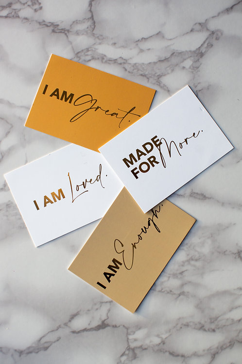 Made for More Affirmation Cards