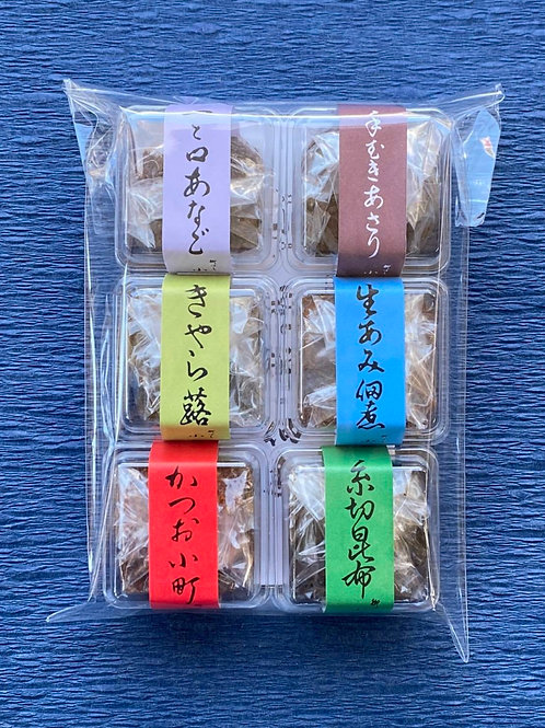 小松屋の佃煮(2)6種セット