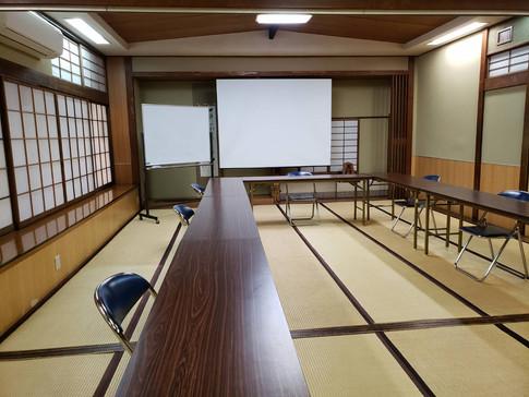 会議室のような使い方(ロの字)