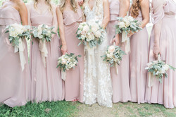 Emilie and bridesmaids