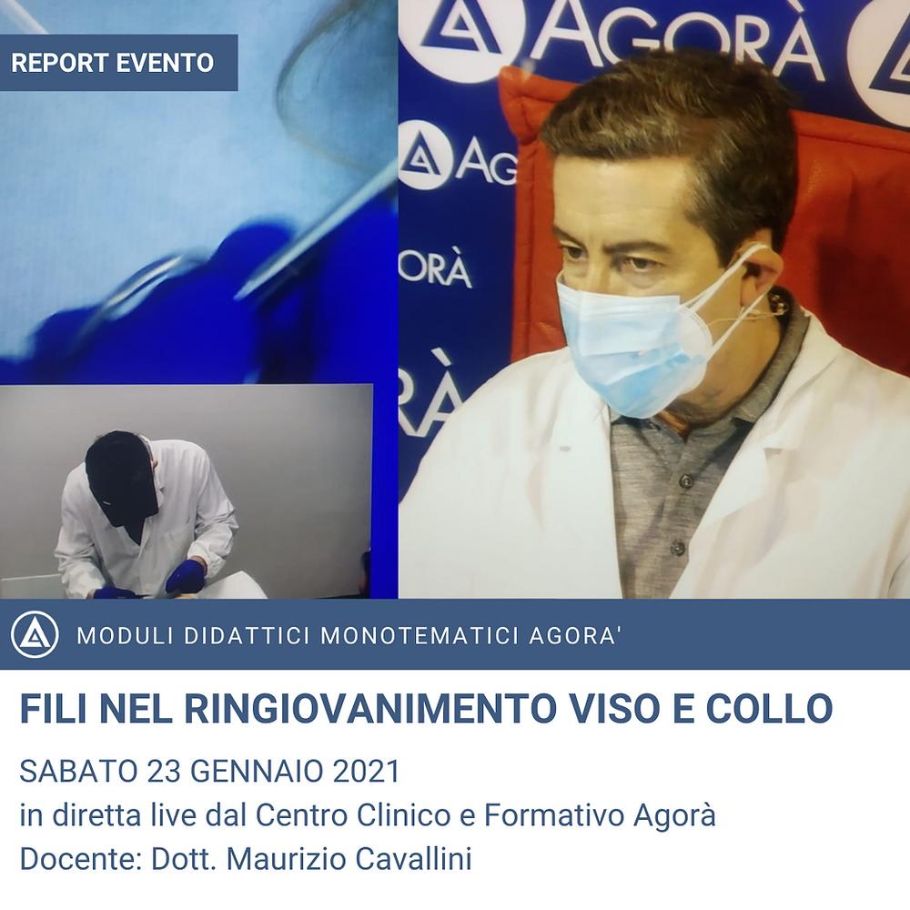 DOTT.CAVALLINI M. AL CORSO ECM FILI DI RINGIOVANIMENTO