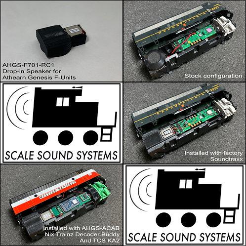 Athearn Genesis F-Units (sound-ready)