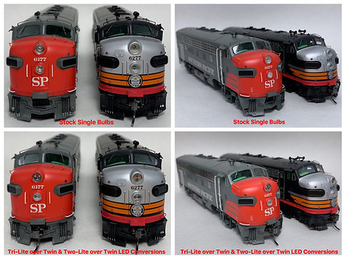 LED Conversion Kits for Cab-Units (Athearn & others)