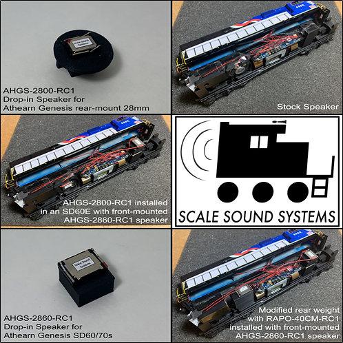 Athearn Genesis SD45-2, SDP45, SD60, SD70
