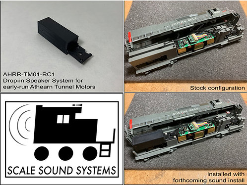 Athearn RTR SD40/45T-2 Tunnel Motors (early)