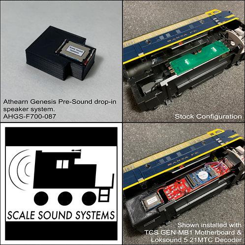 Athearn Genesis F-Units (pre-sound)
