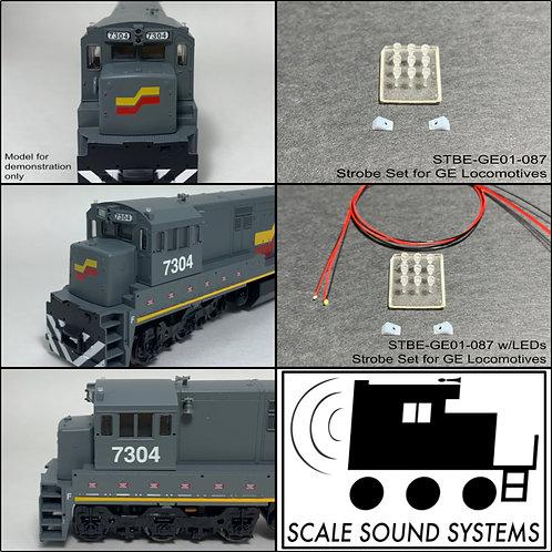 Strobe Lights for GE Locomotives