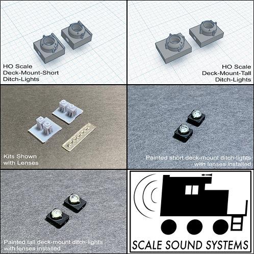 Deck-mount Ditch-lights (HO)