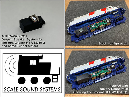 Athearn RTR mid-production SD40-2 & Tunnel Motors