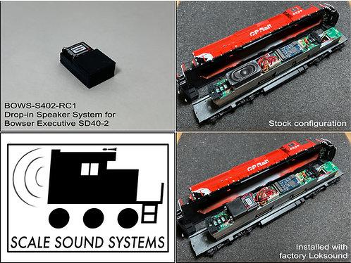 Bowser Executive SD40-2(F)