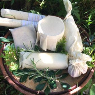 Emballage en cire- couvercles bocaux (6)