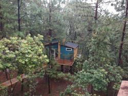 pinochueco cabaña azul