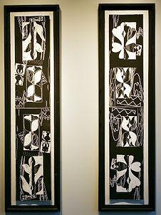 Printed Totem Pattern