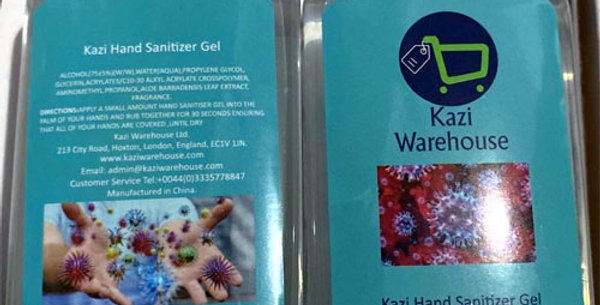 Hand-sanitizer 100 ML  Bottle pack of 12 bottle