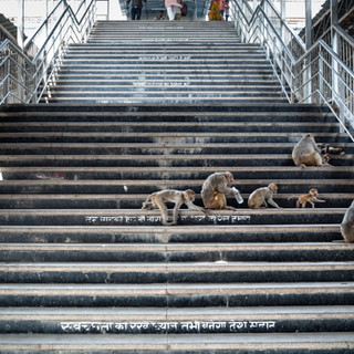 Varanasi Railway station, Uttar Pradesh, India