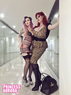 With Mistress Raven