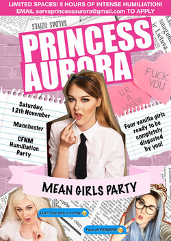 Mean Girls Party Poster