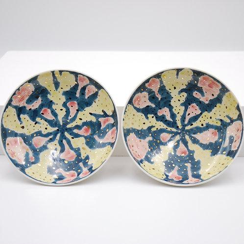 flowerシリーズ 金花粉 皿
