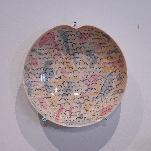 flowerシリーズ 皿(18㎝)