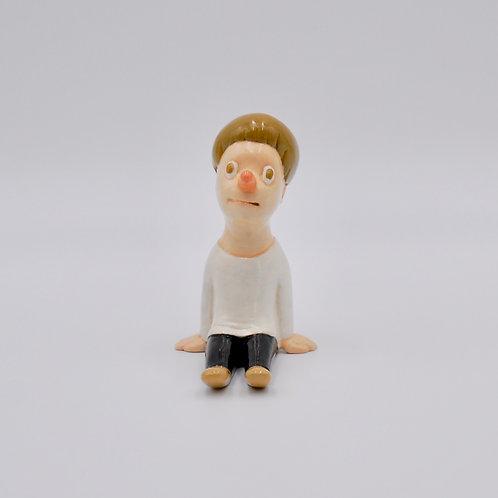 ピノキオになった自画像(ミニ)